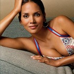 Halle Berry couch