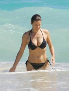 Carey Lowell bikini