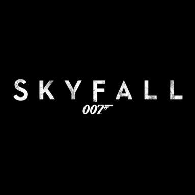 skyfall title black square