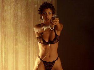 Halle Berry lingerie Swordfish still photo