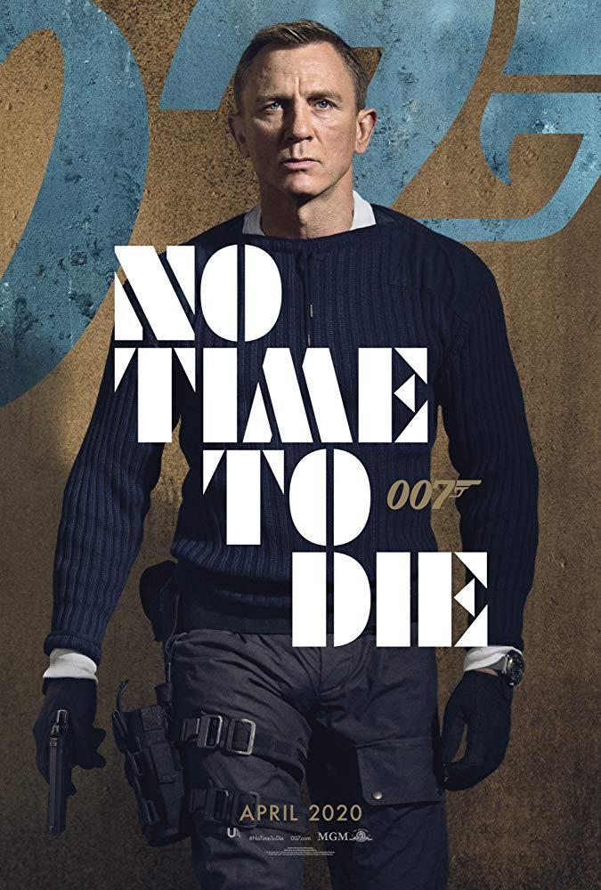 No Time To Die Daniel Craig movie poster